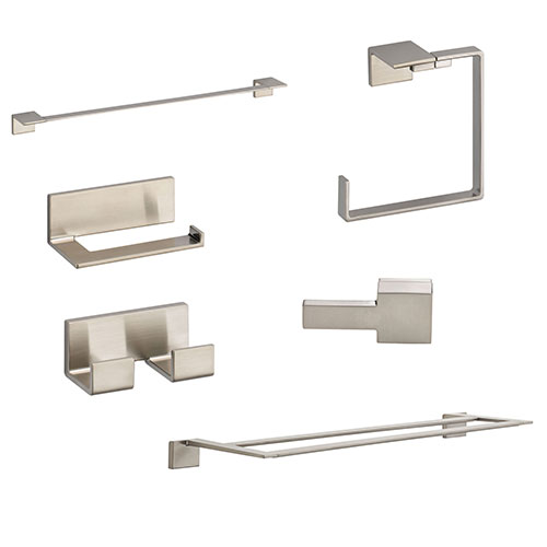 Delta Vero Stainless Steel Finish DELUXE Accessory Set: 24