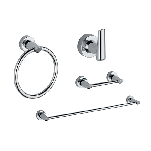 Delta Compel Chrome STANDARD Bathroom Accessory Set Includes: 24