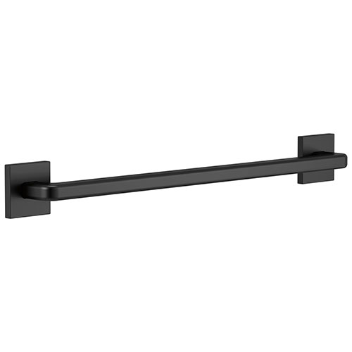 Delta Bath Safety Matte Black Finish Angular Modern Decorative 24