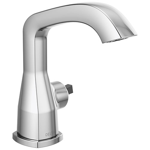 Delta Stryke Chrome Finish Single Handle Faucet Less Handle D576MPULHPDST