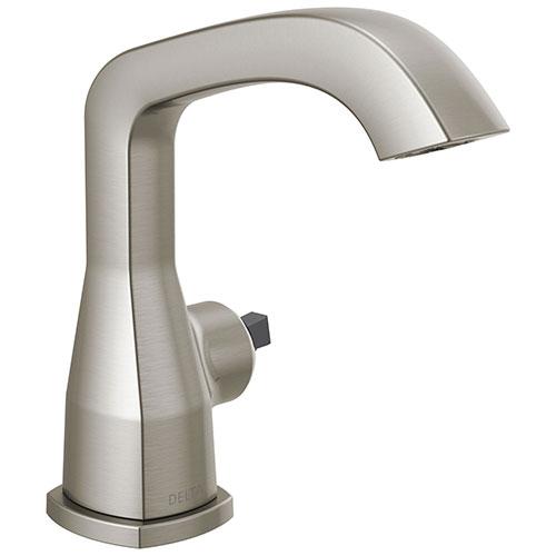 Delta Stryke Stainless Steel Finish Single Handle Faucet Less Handle D576SSMPULHPDST