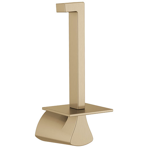 Delta Zura Champagne Bronze Finish Vertical Toilet Tissue Paper Holder D774505CZ