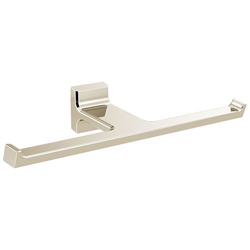 Delta Pivotal Polished Nickel Finish Double Toilet Tissue Paper Holder D79955PN