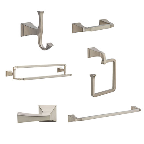 Delta Dryden Stainless Steel Finish DELUXE Accessory Set: 24