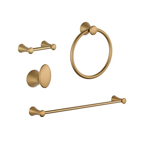 Delta Lahara Champagne Bronze DELUXE Bathroom Accessory Set Includes: 24
