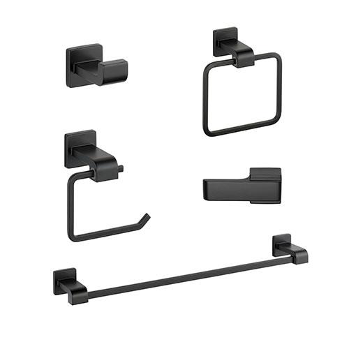 Delta Ara Matte Black DELUXE Accessory Set Includes: 24