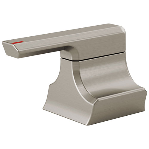 Delta Pivotal Stainless Steel Finish Metal Bidet Lever Handle Set DH300SS