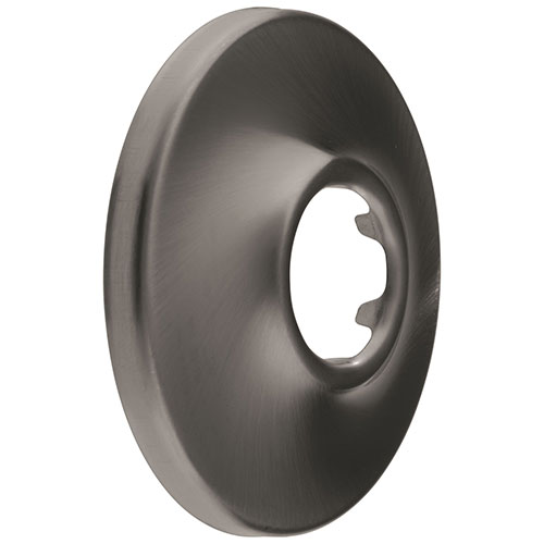 Delta Black Stainless Steel Finish Shower Flange DRP6025KS