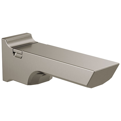 Delta Pivotal Stainless Steel Finish Pull-Up Diverter Tub Spout DRP90158SS