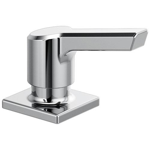Delta Pivotal Chrome Finish Soap / Lotion Dispenser DRP91950