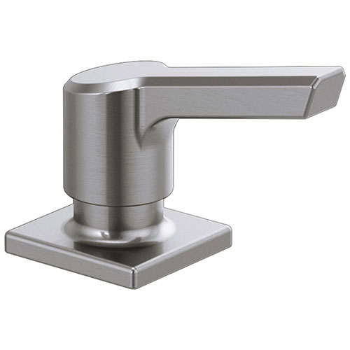 Delta Pivotal Arctic Stainless Steel Finish Soap/Lotion Dispenser DRP91950AR