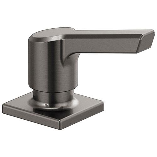 Delta Pivotal Black Stainless Steel Finish Soap/Lotion Dispenser DRP91950KS