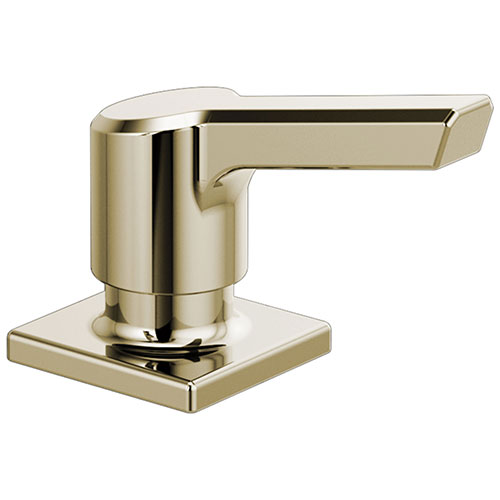 Delta Pivotal Polished Nickel Finish Soap / Lotion Dispenser DRP91950PN