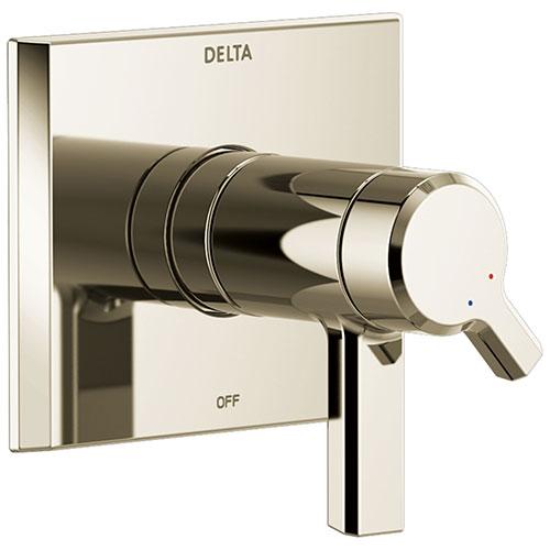 Delta Pivotal Polished Nickel Finish TempAssure 17T Series Shower Faucet Control Only Trim Kit (Requires Valve) DT17T099PN